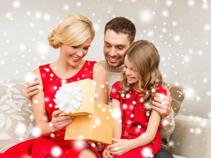 Новогодние подарки для мамы и папы